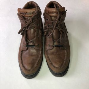 Vintage Timberland hiking boots